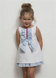 vestidos de niña todo pique - Buscar con Google
