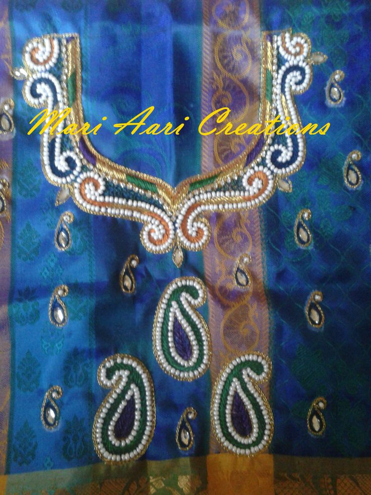 "Customized order ITEM CODE - MACKC-002 Contact For Price. Whats-app: 9962983940 Orders taken for more updates do visit our facebook page "" MARI AARI CREATIONS ""  9962983940(whatsapp)"