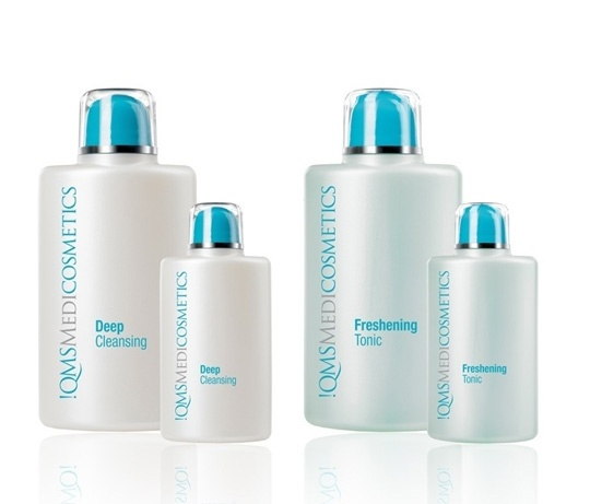 We proudly use !QMS Medicosmetics products to ensure a healthy and glowing skin.