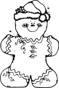 Gingerbread Man Coloring Pages - Bing images