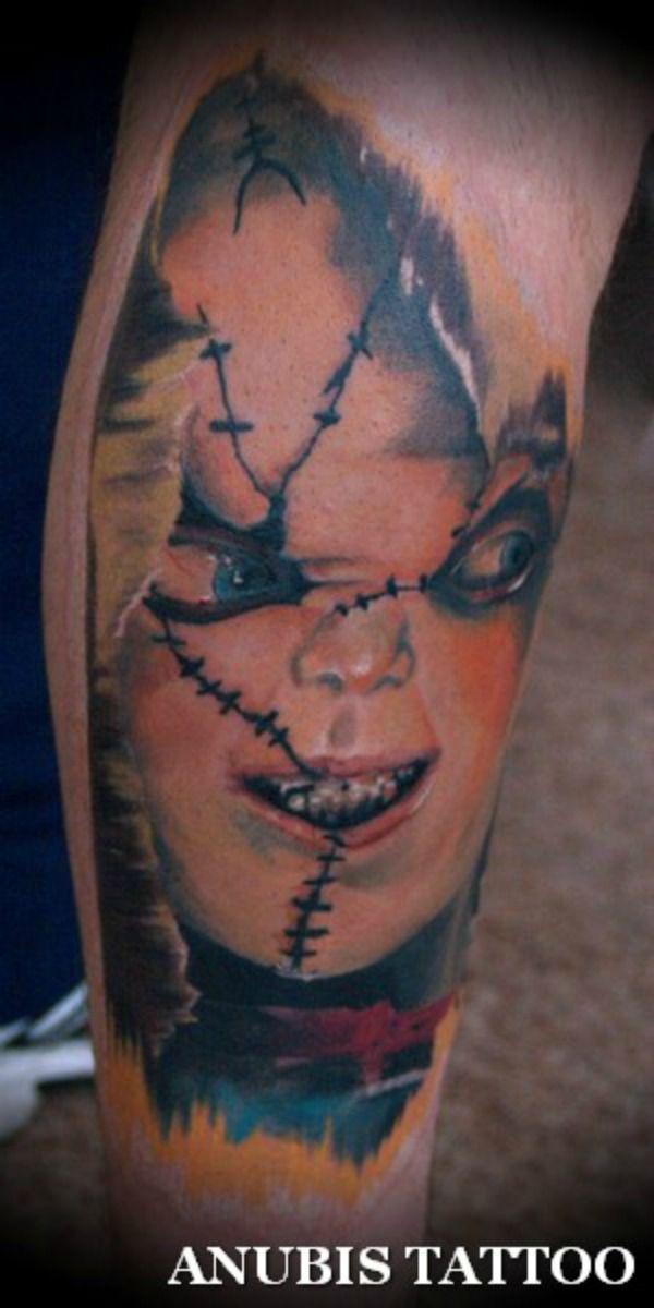 20 tatouages de films dhorreurs   20 tatouages de films d horreurs chucky
