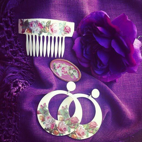 Complementos de Flamenca colección 2013 Pepa Garrido #complementos #modaflamenca