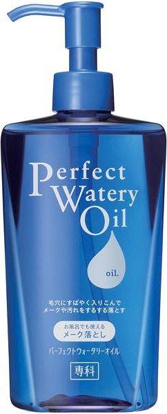 SHISEIDO Perfect Watery Oil гидрофильное масло для снятия стойкого макияжа Идеальное очищение купить
