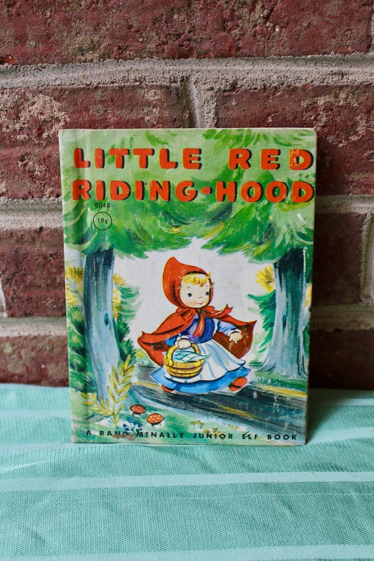 Childrens book little red riding hood a rand mcnally