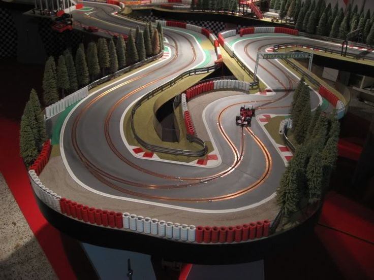 The Spa-Francorchamps inspired Digital Wood Track Story - SlotForum