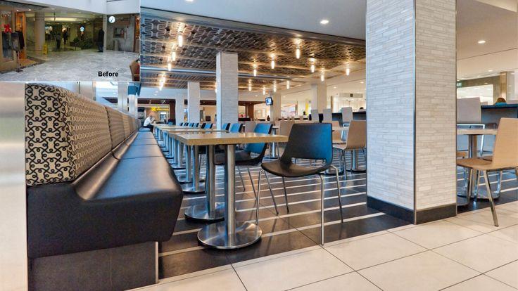 Richmond adelaide centre food court toronto ontario for Courtyard designs adelaide