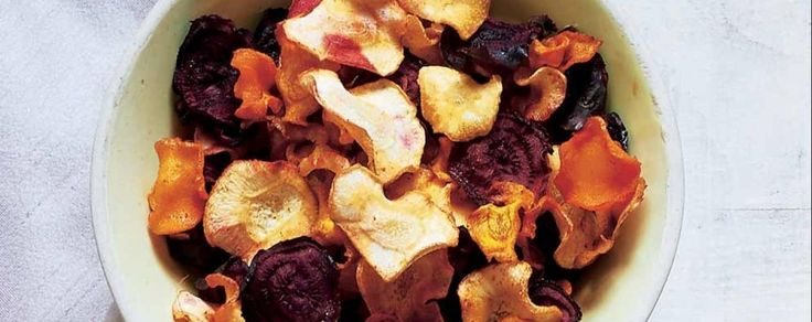 Mixed veg crisps