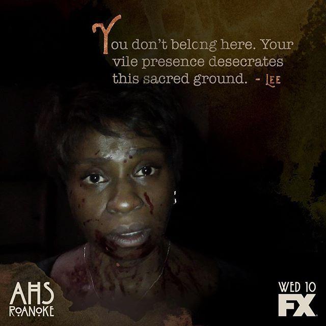 American Horror Story Roanoke //Heed Lee's warning. #AHSRoanoke