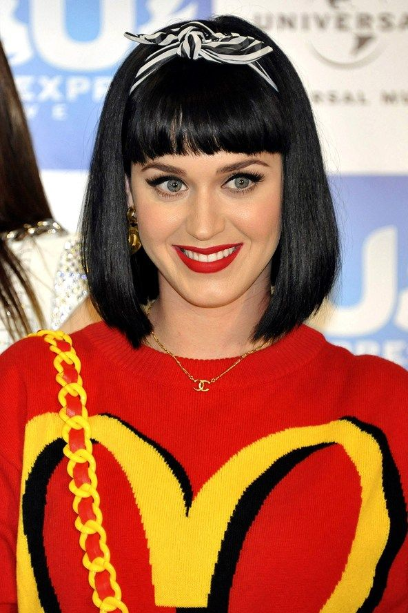 Katy Perry | Celebrity Summer Hair Accessories | Pinterest