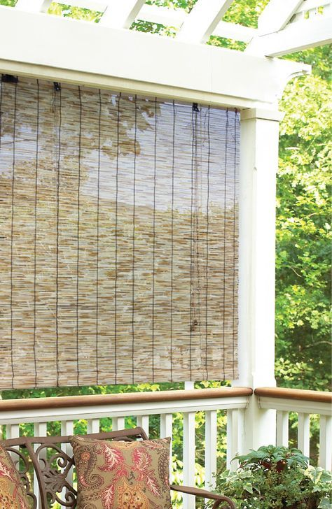10 Best Outdoor Bamboo Blinds Images On Pinterest Bamboo