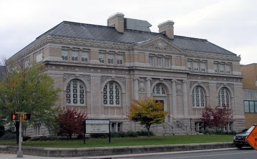 New Britain Public Library, High Street, New Britain Connecticut