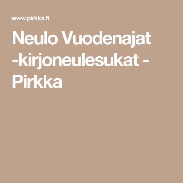 Neulo Vuodenajat -kirjoneulesukat - Pirkka