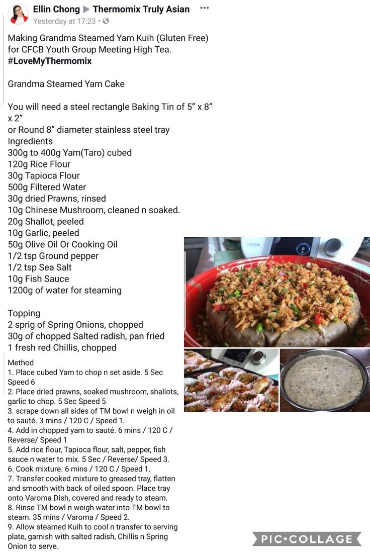 Yam Cake   Thermomix recipes, Thermomix desserts, Recipes