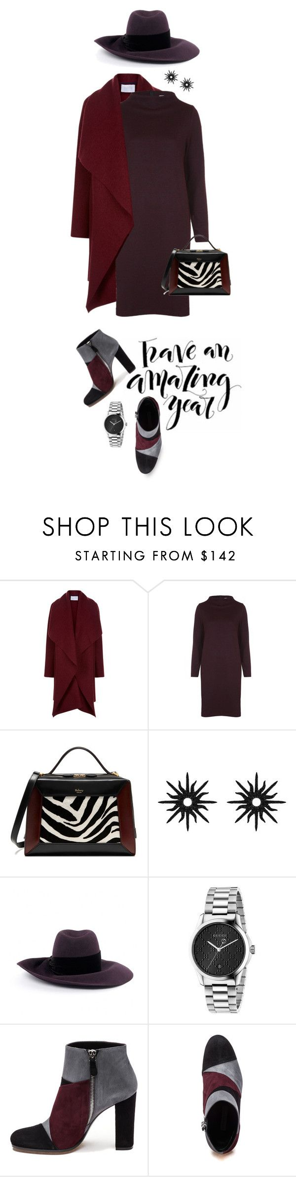 """""""NEW YEAR..NEW YOU"""" by shortyluv718 ❤ liked on Polyvore featuring Harris Wharf London, Ganni, Mulberry, Christina Debs, Louis Vuitton, Gucci, Roberto Festa and vintage"""
