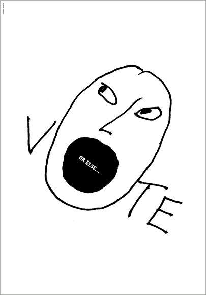 Alice Drueding & Joe Scorsone, Vote. Or Else…