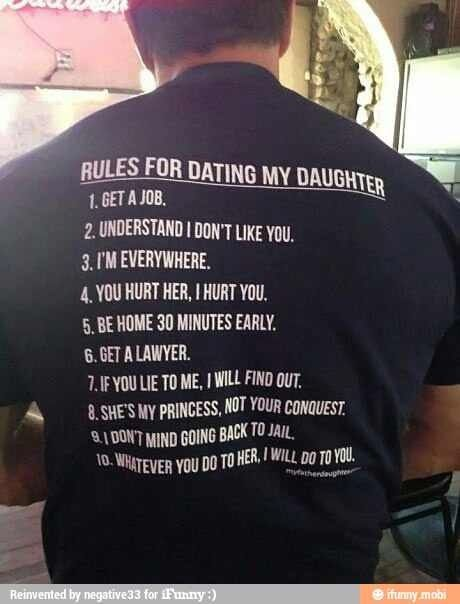 Usmc Rules For Dating My Daughter