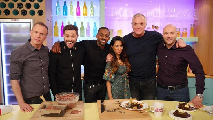 Oops... Richard Blackwood doesn't know what lemon zest is on Sunday Brunch  - DigitalSpy.com