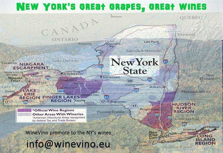 WineVino promote to the #NY wines in #Europe. #WineExport #WineImport