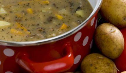 Pikantná zemiaková polievka