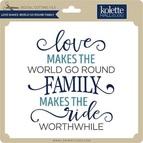 Love Make World Go Spherical Household