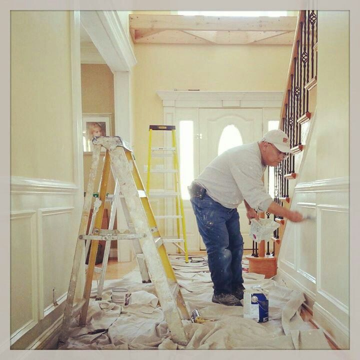 Foyer Paint Jobs : Foyer idea wainscoting pinterest entry