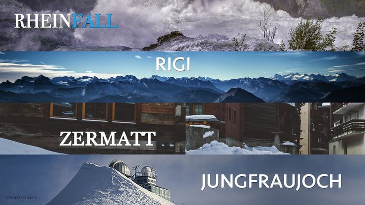 Switzerland: The best of Zermatt, Jungfraujoch, Rigi and the Rhine Falls