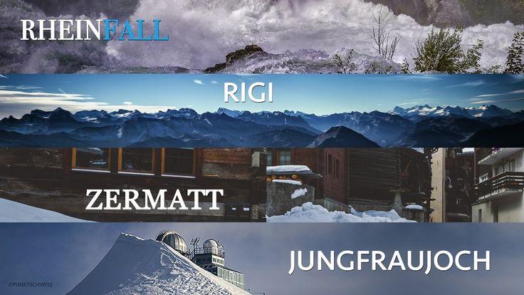 Switzerland: The best of Zermatt, Jungfraujoch, Rigi and the Rhine Falls