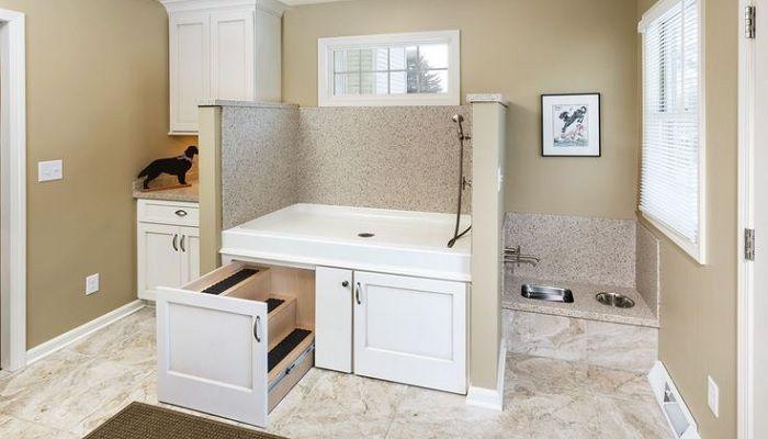 Como criar cantinhos práticos e confortáveis para dar banho nos cães em casa…