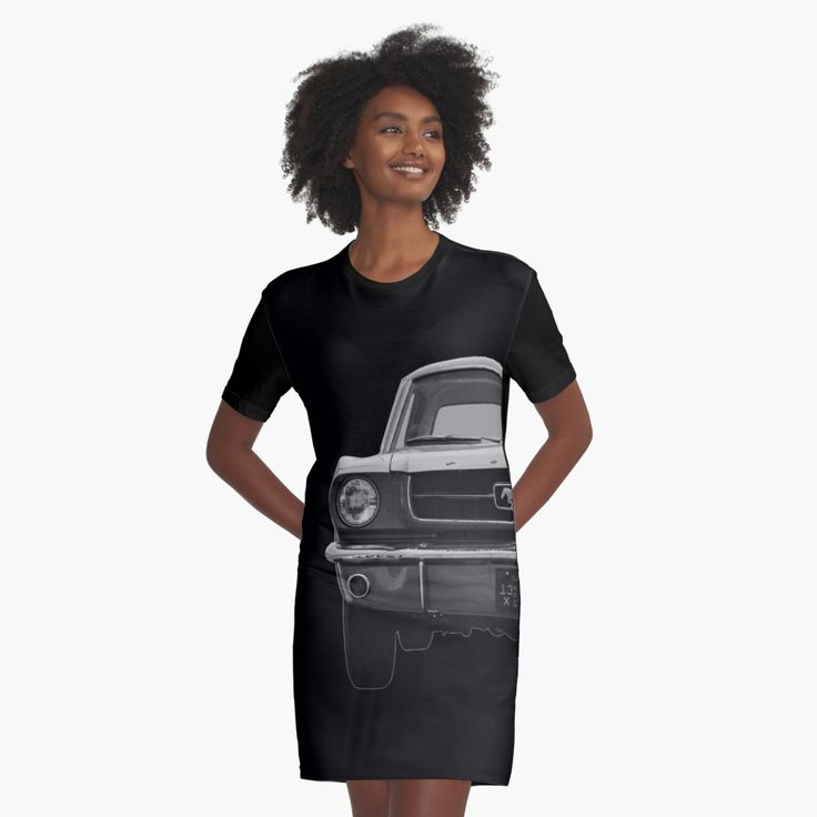 Ford Mustang T-Shirt Dress Women