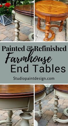 painted end tables found on jerome painted furniture painted rh pinterest com