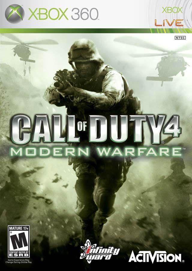 Call of Duty 4 Modern Warfare Xbox