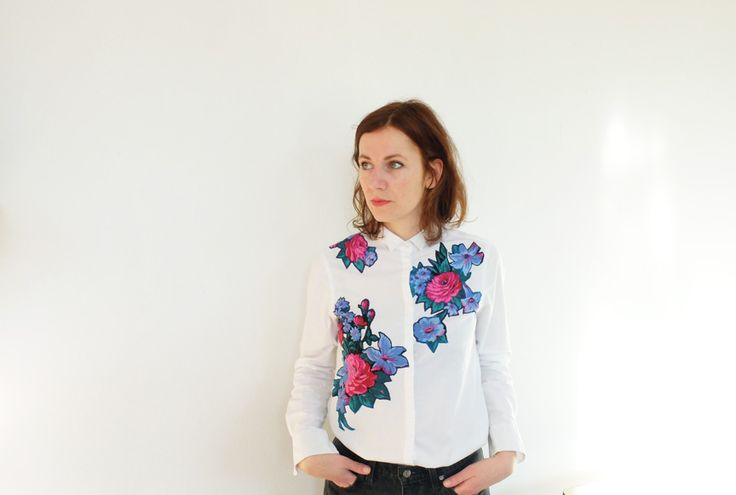 La chemise blanche printemps par Hélène Georget | Milh – La mercerie en ligne