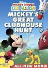 Disneys Mickey Mouse Clubhouse: Mickeys Great Clubhouse Hunt (DVD 2007)
