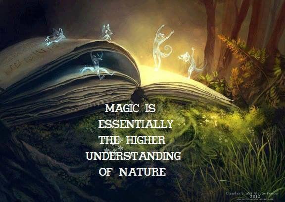 Magic: a higher understanding of nature