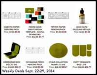 Stampin' Up! Weekly Deals!...Fabulous! www.inkandinspirations.com