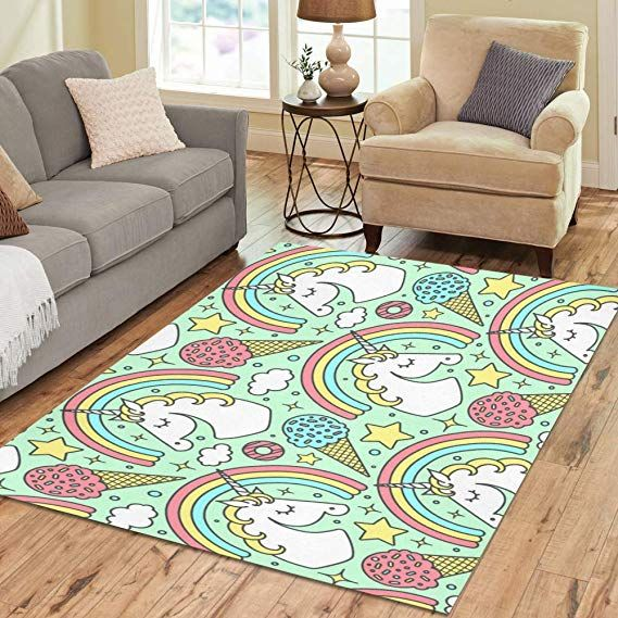 design area rug unicorn carpet for living room dining room bedroom 7 rh pinterest com