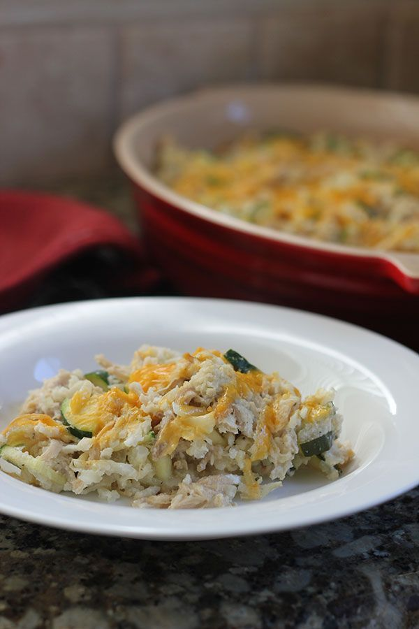 "Chicken and ""rice"" casserole from Against All Grain (Leave off the optional cheese during The 30 Clean challenge)"