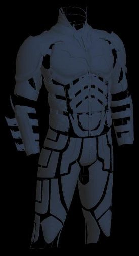 1000 ideas about pepakura files on pinterest for Deathstroke armor template
