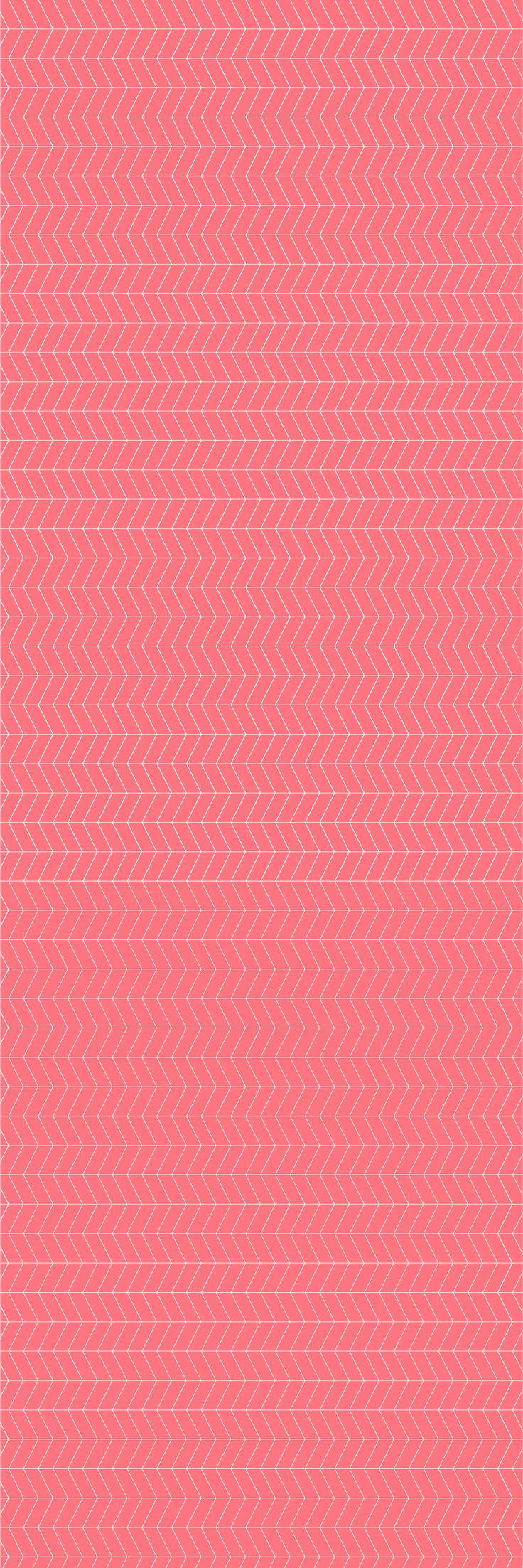 Custom printed Herringbone wallpaper from the 'CONFIDENT' colour range #herringbone #wallpaper #muurgraphics