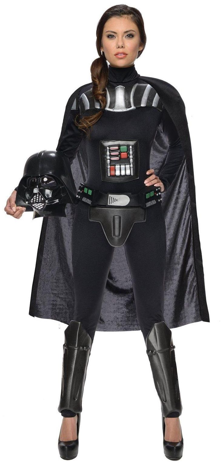 PartyBell.com - #StarWars Darth Vader Female Adult Bodysuit