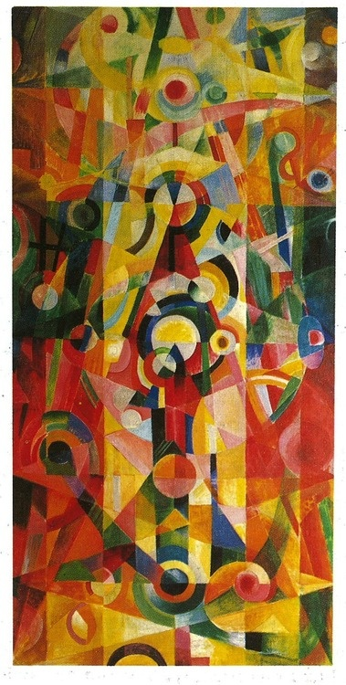 Johannes Itten, Ascent and Pause, 1919