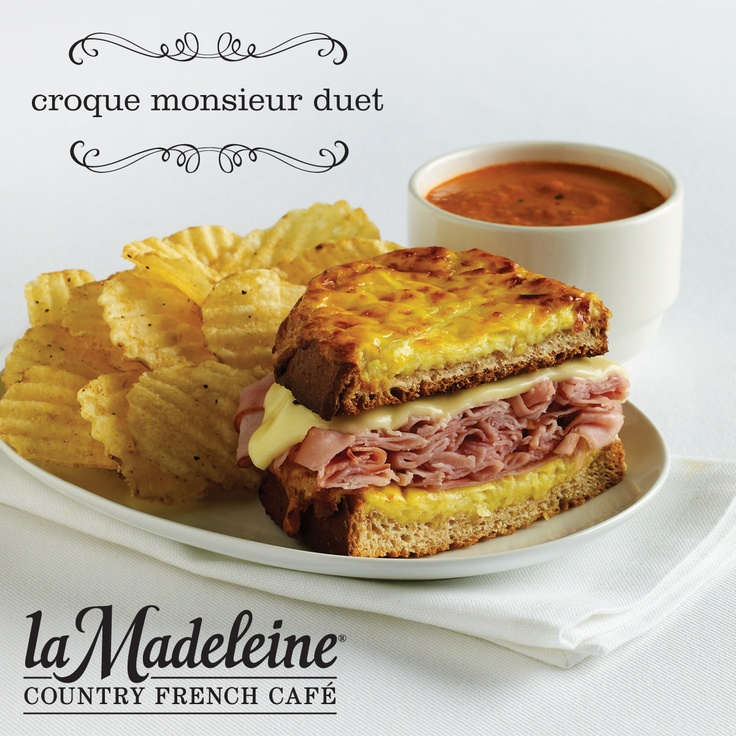 Croque Monsieur - Our classic French twist on the ham and cheese ...