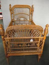Victorian baby crib