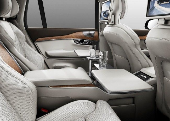 2018-2019 Volvo XC90 Excellence will present in Geneva