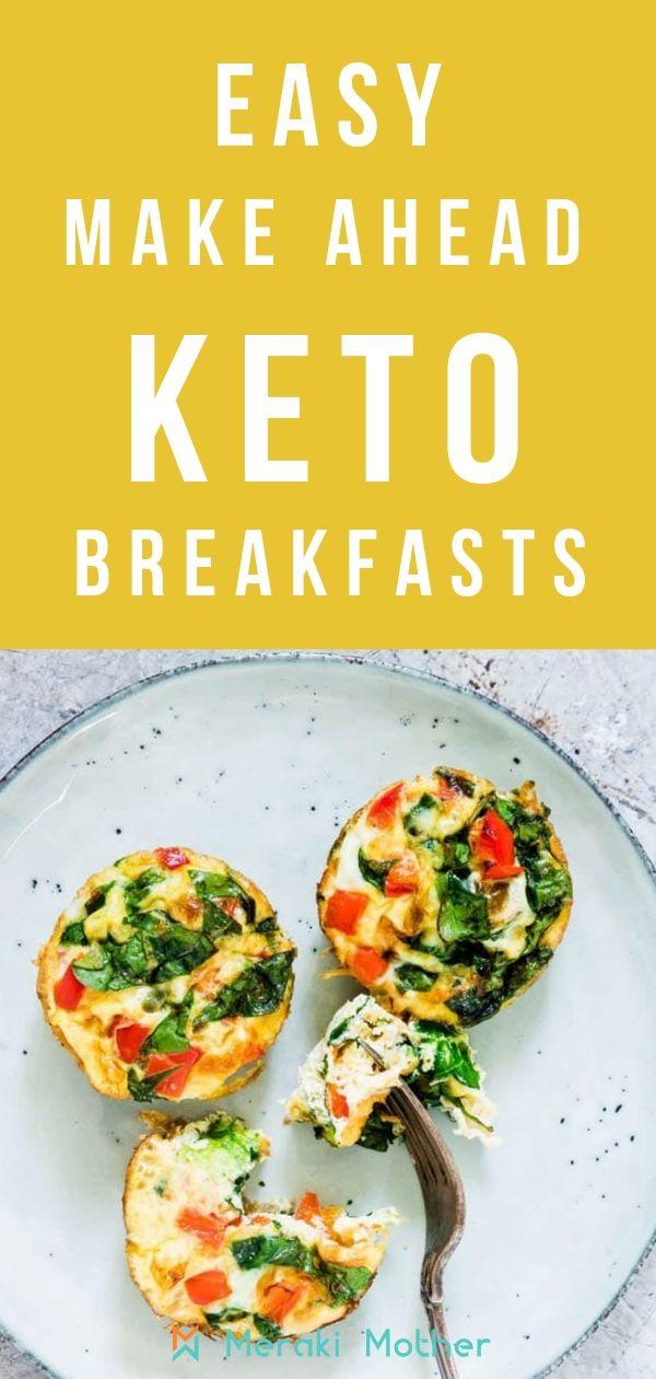 keto diet breakfast make ahead
