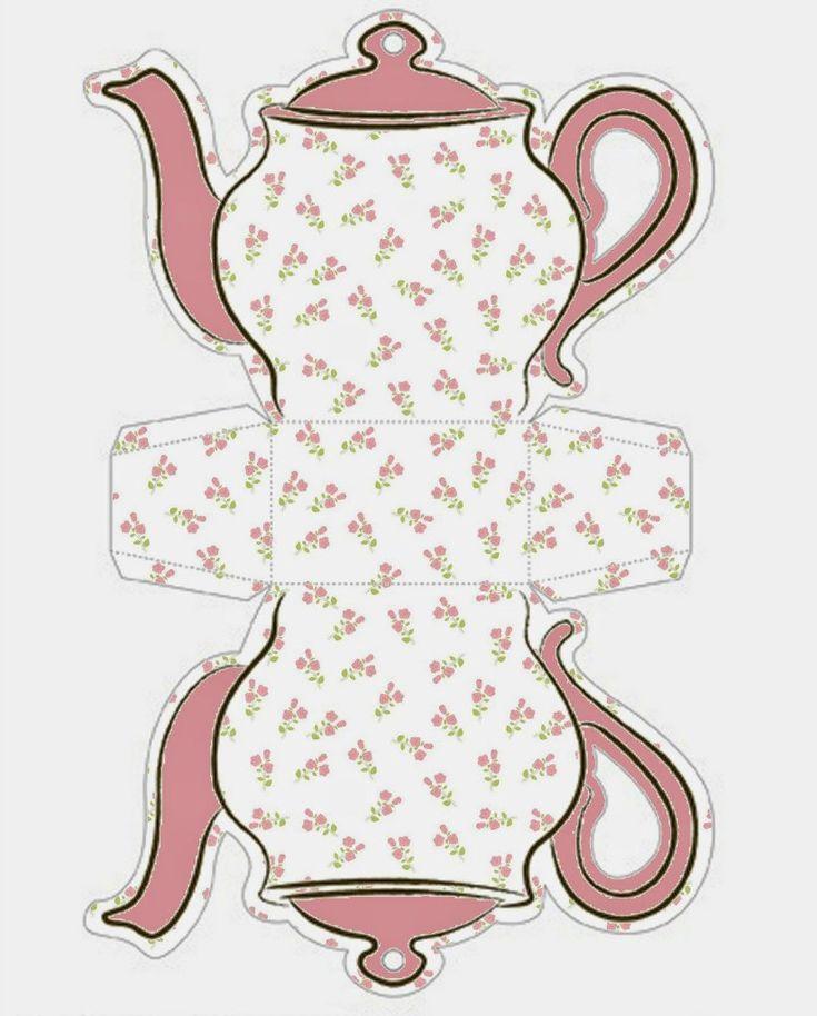 Открытка в форме чайника, днем рождения мужчине