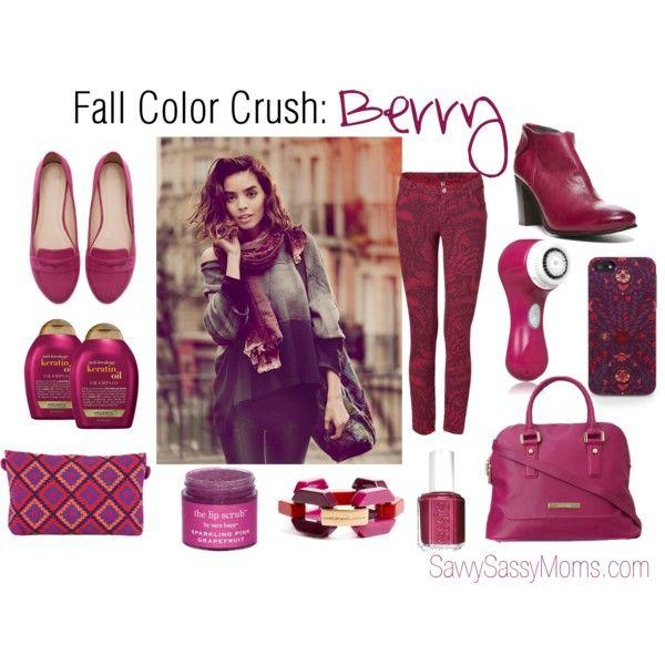 Fall Color Crush: Berry @Andrea / FICTILIS / FICTILIS / FICTILIS Fellman #color #fall #fashion