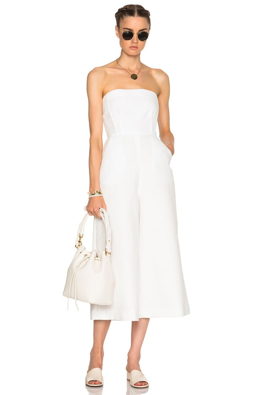 Image 5 of Rachel Comey Summon Jumpsuit in White