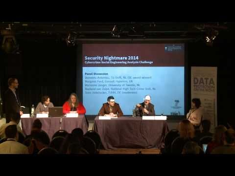 CPDP 2015: Cybercrime social engineering analysis challenge. - YouTube