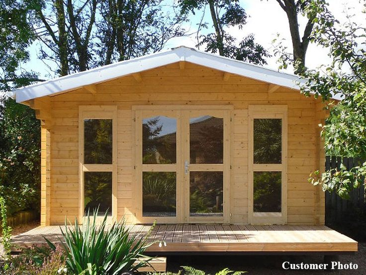 Sunset Cabin Kit Small log cabin kits Cabin kits and Garden cabins